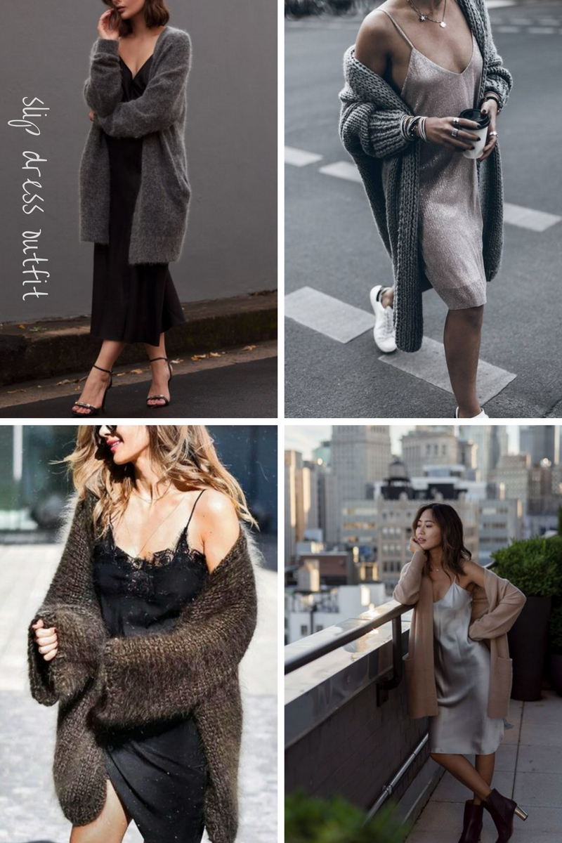 slip dress inspirations martaguzowska.pl blog